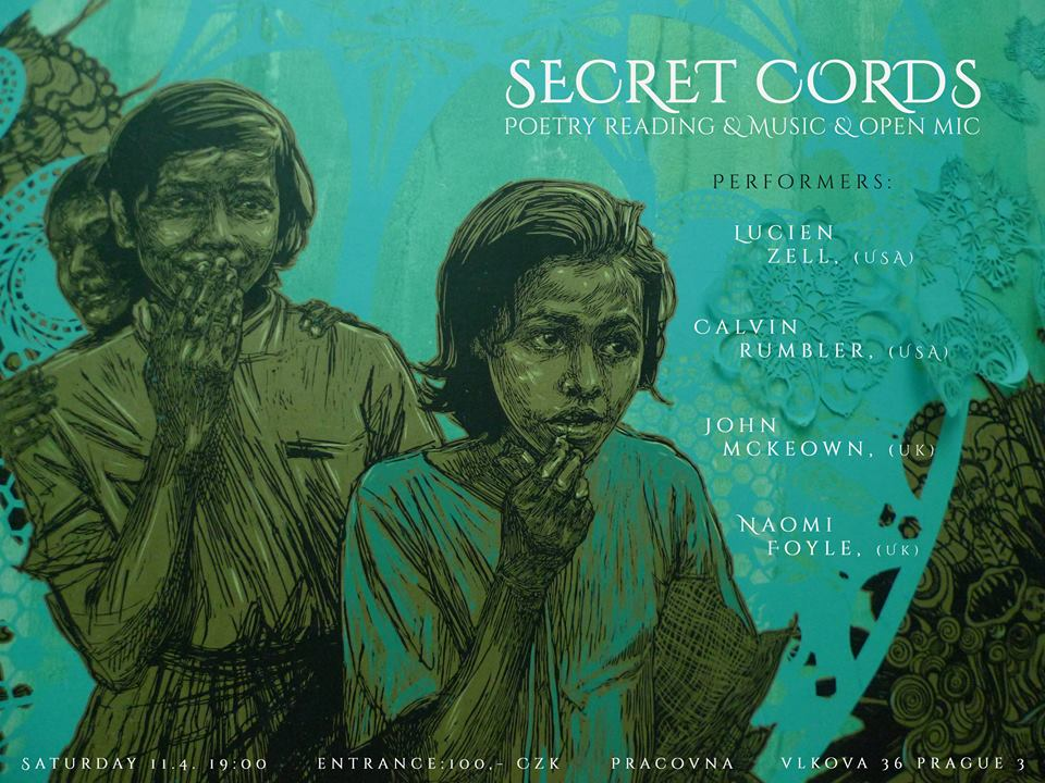 Secret Cords - Poetry Poster